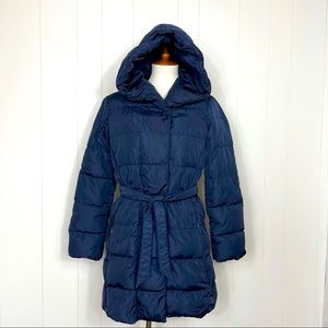 Weekend MaxMara Urban Blue Down Puffer Jacket